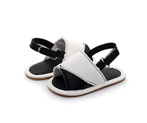Huhu833 Baby Schuhe, Kleinkind Baby Casual Strand Sandalen Sommer Solide Sohle Krippe Hohl Schuhe Sneaker Mehrfarbig