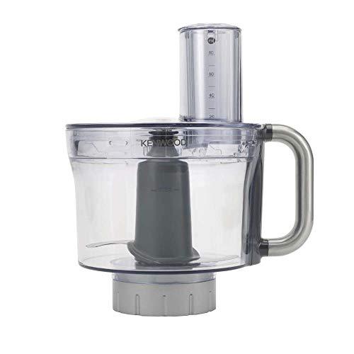 Kenwood KAH647PL Accesorio procesador de alimentos compatible con robot de cocina Chef y Major, color gris transparente