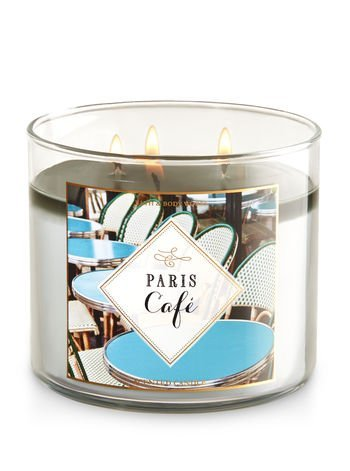 (Bath and Body Works Paris Cafe 3 Wick 14.5 ounce Candle)