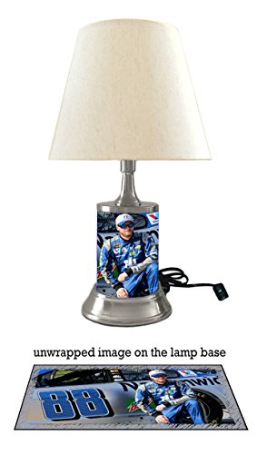 (Dale Earnhardt Jr. Lamp with Shade)