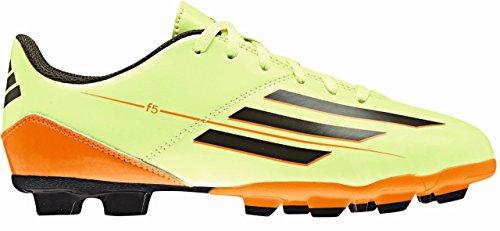 Adidas Schuhe Nockenschuhe F5 Fußballschuhe FG Nockenschuhe Kinder Junior Kinder glow/eargrn/, Größe Adidas:30