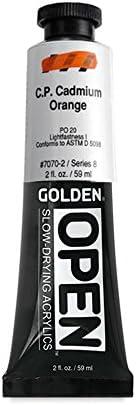 Golden Open Acryl 2 Oz C.p. Cadmium Orange