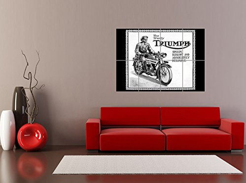 Review PANEL ART PRINT TRIUMPH