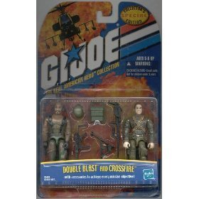 Gi Joe Double Blast and Crossfire Special Collector's Edition 2 Pack