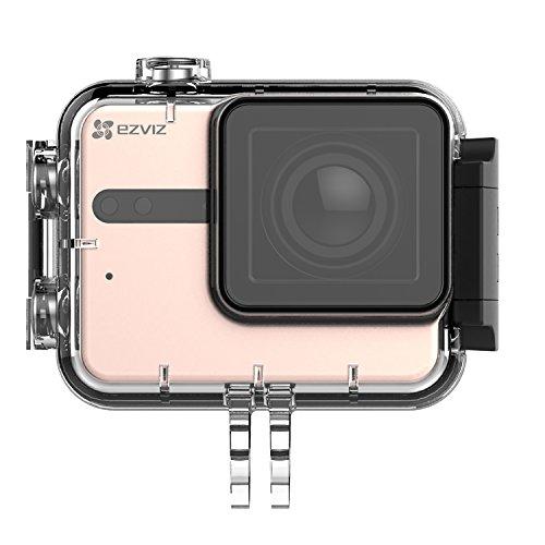 41sCkiJIMTL EZVIZ 5 PLUS Ultra HD 4K Video Wifi Sports Action Camera with Waterproof Touchscreen Case, Gold