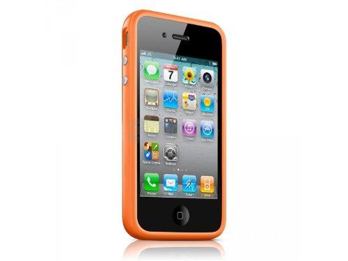 G4GADGET® Iphone 4S/4 Silicon Bumper Orange