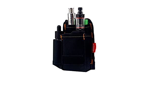 H&W V2 Vapeador Bag E-cigarrillo Anti Desgaste Ahumado Bolsa de Transporte Negro: Amazon.es: Equipaje