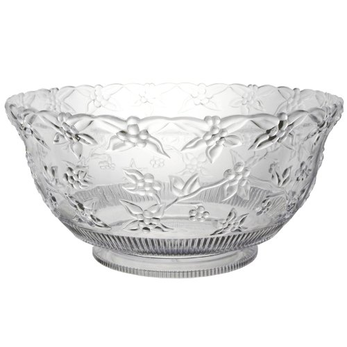 Punch Bowl Halloween Costumes (8 Quart Embossed Clear Punch Bowl)