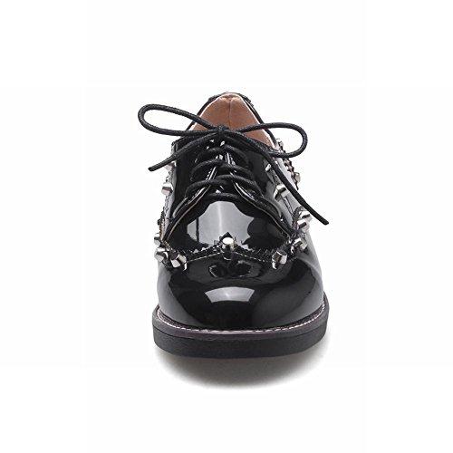 Chaussures Noires À Lacets Pour Les Femmes 3seDv7hY