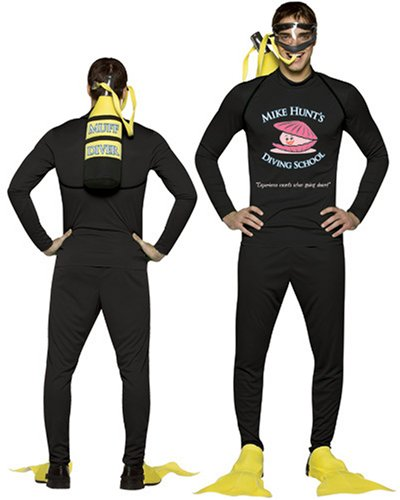 Mike Hunt's Diving School Costume One Size Fits Most (Large/X-Large)