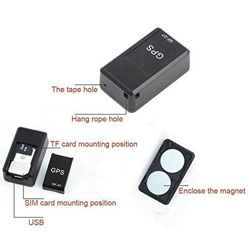 Magnetic GF07 Mini GPS Real Time Car Locator Tracker GSM/GPRS Tracking Device