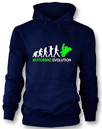 Motorbike Evolution - Herren Hoodie in Größe M