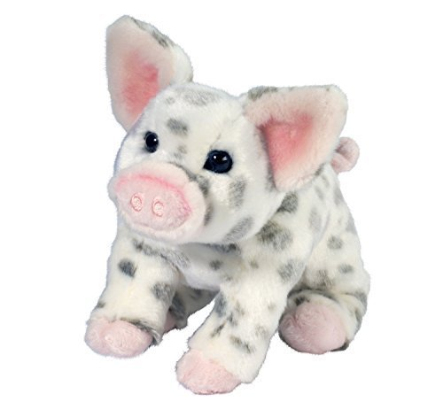 Douglas Pauline Spotted Pig Small Plush Stuffed Animal ()