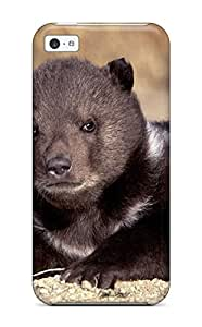 New Style AndrewTeresaCorbitt Hard Case Cover For Iphone 5c- Grizzly Bears