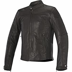 Alpinestars Brera Airflow Mens Leather Jacket Brown 48 EUR