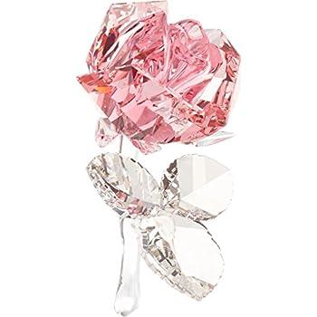 Image of Home and Kitchen SWAROVSKI Blossoming Rose, Light Rose