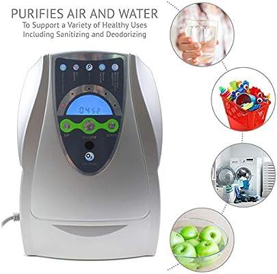 Generador de ozono O3 Purificador de aire Esterilizador de ...