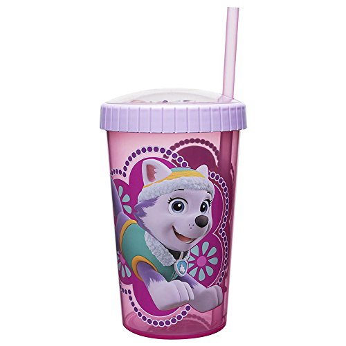 Zak Designs Pwpl-S711 Plastic Tumbler, 16.5oz, Multicolored (Zak Pop Designs)