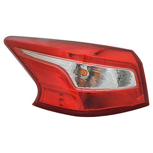 TYC 11-6906-00-1 Nissan Sentra Replacement Left Tail ()