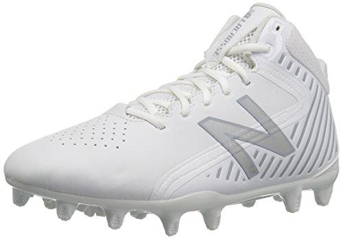 Lacrosse-Geschwindigkeits-Lacrosse-Schuh der neuen Balancen-Männer stürmen v1 Lacrosse Weißsilber