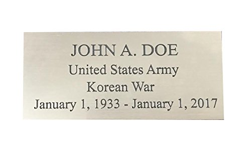 Custom Engraved Personalized Name Plates
