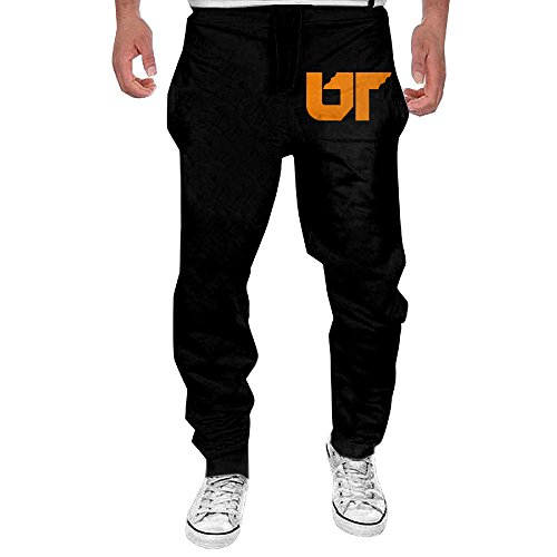 Tennessee String (Men's University Of Tennessee Drawstring Athletic Lounge Sweatpants Black XL)