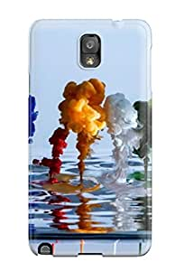 New Paints Dropped Into Water Tpu Skin Case Compatible With Galaxy Note 3