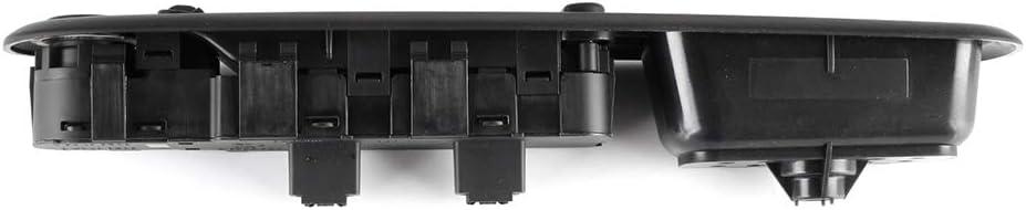 Power Window Switch Power Window Master Switch 6554.ER Fits for Peugeot 407 6D2004-2014 Peugeot 407 6C 2005-2014 Peugeot 407 6E2004-2014