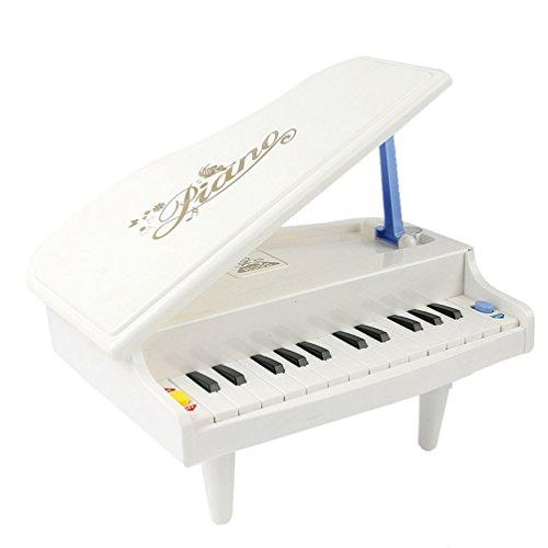 14 Touches Multifonctionnelles Mini Simulation Jouets Piano pour Fille Garçon 3 Ans