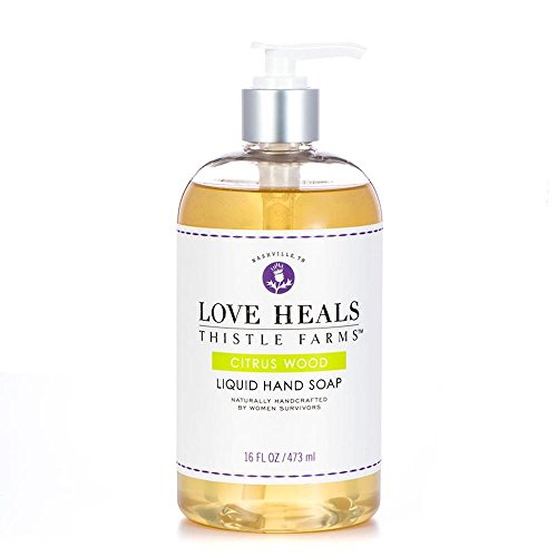 Thistle Farms Love Heals Liquid Hand Soap 16 fl oz 473 ml (Citrus Wood)