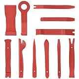 plastic auto trim - Neiko 20765A Premium Auto Trim Removal Tool Kit, 11 Piece |Trim Molding Installer, Pry, Scraper, Fastener