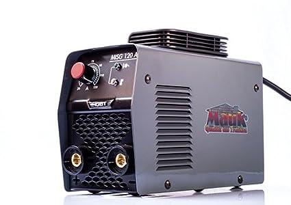 Mauk 1749 Inverter electrodos schweis dispositivo Basic 120 a + accesorios, 230 V, Gris