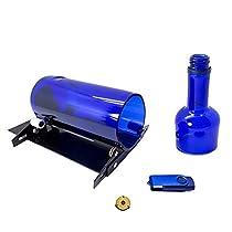 Glass Bottle Cutter Cutting Machine - Jaybva Glass Cutting Tools Kit Wine Bottle Etching Tool with Video Tutorial 2017 New Upgraded