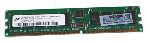 HP/Compaq 331561-041 512MB PC-2700 333MHz DIMM 184-pin CL2.5 ECC Registered DDR SDRAM Genuine HP Memory for Proliant ML350 G4 DL360 G4 ML110 G2 ML150 G2. (Ddr Pin 512 Sdram Mb 184)