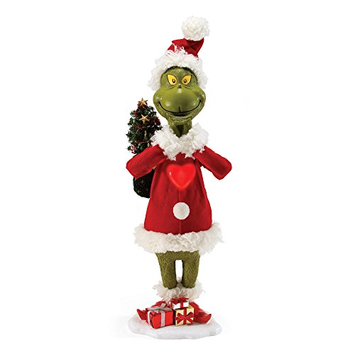"Department 56 Possible Dreams How The Grinch Stole Christmas ""Means A Little Bit More"" Figurine, 30'' by Department 56"