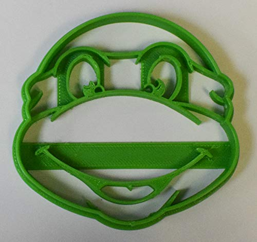 TMNT TEEN MUTANT NINJA TURTLE LEONARDO RAPHAEL DONATELLO MICHELANGELO SHREDDER SPECIAL OCCASION COOKIE CUTTER FONDANT BAKING TOOL 3D PRINTED USA PR484 -