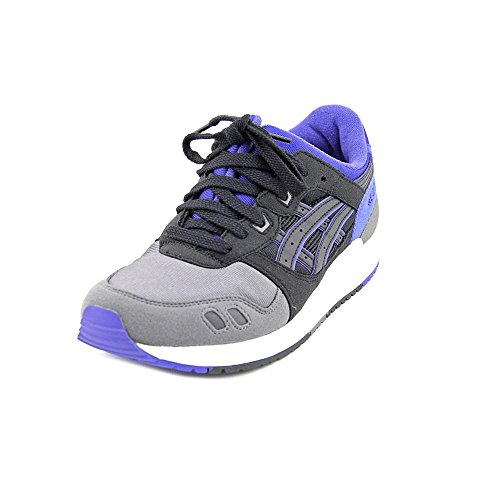 ASICS Tiger Gel Lyte III GS Retro Running Shoe (Big Kid), Black/Black, 5 M US Big Kid