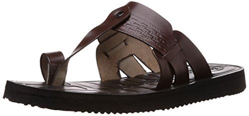 BATA Men's F.Lite Leather Hawaii Thong Sandals