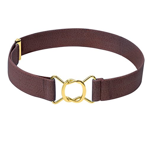 Hold'Em Kids Toddler Clasp Gold Buckle - Buckle Gold Woven Belt