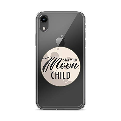 iPhone XR Pure Clear Case Transparent Cases Cover Stay Wild Moon Child Witch Wiccan Pagan Halloween Crystal Clear]()