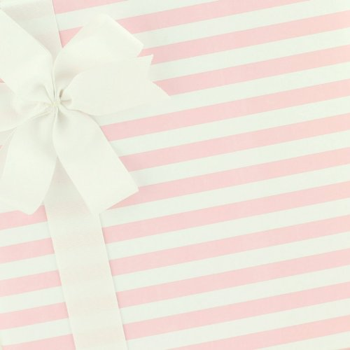 Candy Stripe (Party Paper Gift Wrap - Candy Stripe - Pink Frosting by SmashCake & Co.)