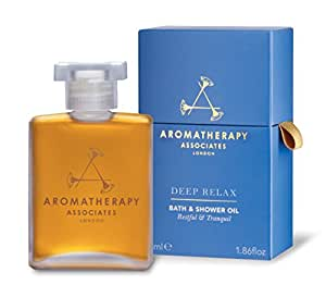 Aromatherapy Associates Deep Relax Bath And Shower Oil, 1.86 Fl Oz