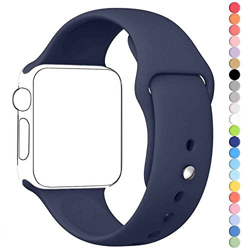 Inteny Apple Watch Band Series 1 Series 2 Soft Silicone