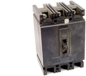 WESTINGHOUSE EHB3020 20A 480V CIRCUT BREAKER 4989D52G35