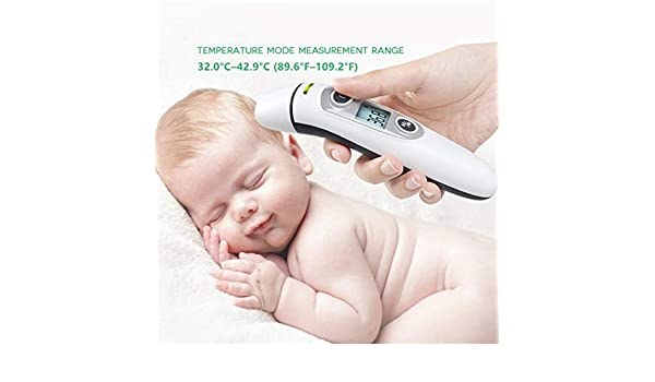 Baby Termometro Digital IR LCD Infrared Dual Mode Forehead and Ear Adult Body Th