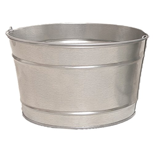 16 Qt. Galvanized Steel Pail (1 Pail) by Product Conect (Image #2)