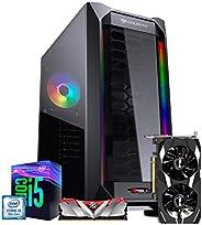 PC Gamer ITX Arena Setup Powered By Asus, I5 9400F, Asus GTX 1650 4GB, 8GB, SSD 240GB, 3 Anos Garantia
