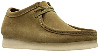 CLARKS - Mens Wallabee Shoe, Size: 12 D(M) US, Color: Olive Suede (B07766VFH9) | Amazon price tracker / tracking, Amazon price history charts, Amazon price watches, Amazon price drop alerts