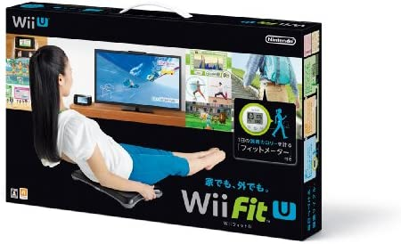 Wii Fit U バランスWiiボード (クロ) + フィットメーター (ミドリ) セット - Wii U