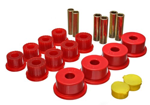 Suspension Bushings Dodge Energy Rear (Energy Suspension 5.2109R Rear Spring Bushing for Dodge)
